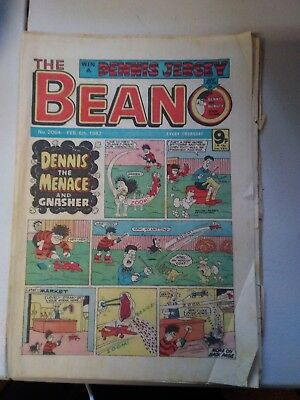 3 x BEANO COMICS from 1982 Vintage Collectable * Best Value *