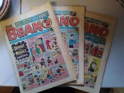 14 x BEANO COMICS from 1983 Vintage Collectable * Best Value *