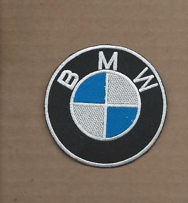 New 3 Inch Bmw Iron On Patch Free Shipping