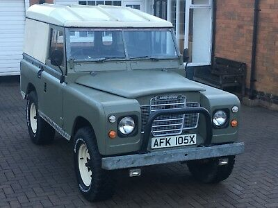 """Landrover Series 3 88"""" SWB . 2000 only 25,000 miles"""