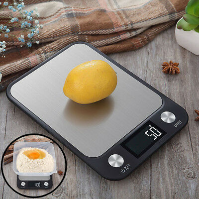 10kg Stylish Modern Digital LCD Electronic Kitchen Cooking Food Weighing Scales
