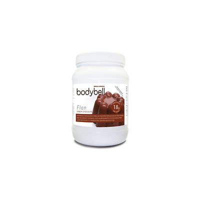 Bodybell Bote Flan Chocolate 450 Grs.