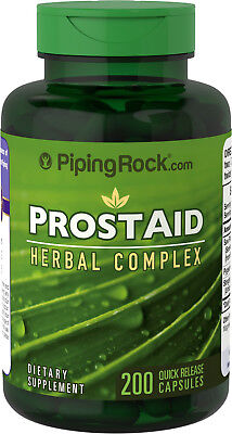 ProstAid Herbal Complex x 200 Capsules PipingRock - 24HR DISPATCH