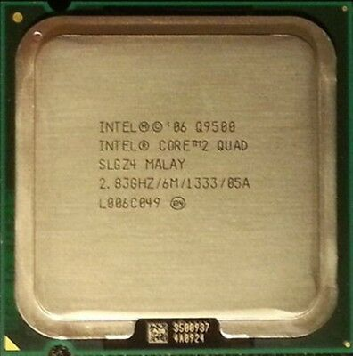 Intel Core 2 Quad CPU Q9500 2.83GHZ/6MB/1333 LGA775