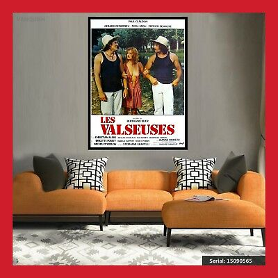 TOILE AFFICHE FR CINEMA MOVIE FILM POSTER PHOTO LES VALSEUSES DVD 40x60 60x80cm