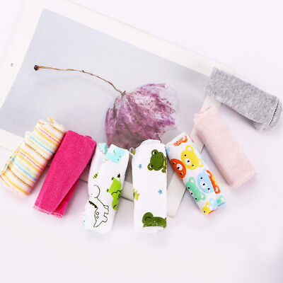 8pcs/Pack Baby Face Hand Washers Towel Cotton Feeding Wipe WashCloth