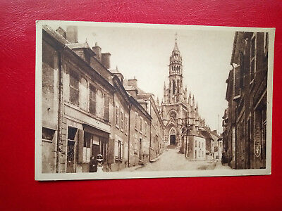 Cpa CHATEAUNEUF SUR CHER - Grande Rue