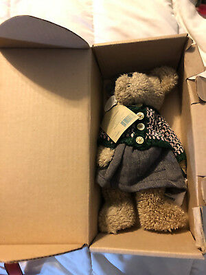 Vintage The Boyds Collection Bernice B Bear Exclusive Teddy Bear Doll Toy