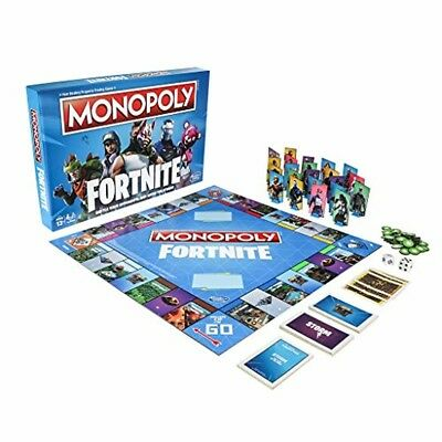 LIMITED EDITION Monopoly: Fortnite Edition Board Game Inspired by Fortnite