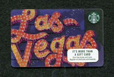Las Vegas Starbucks Gift Card NEW Issue 2019