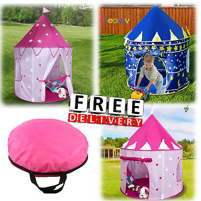 Kids Playhouse Tent Princess Girl Boy Castle House Toddler Baby Children Gift