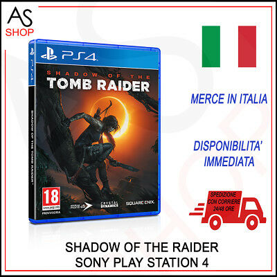 Videogames Shadow Of The Tomb Raider Italiano Per Console Sony Ps4 Nuovo