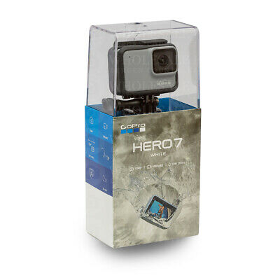 GoPro HERO7 HERO 7 White Waterproof 4K HD Video Digital Action Camera CHDHB-601