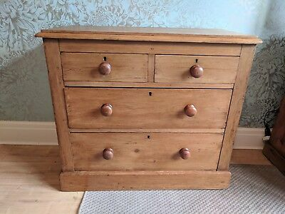 Edwardian Pine Chest of Drawers