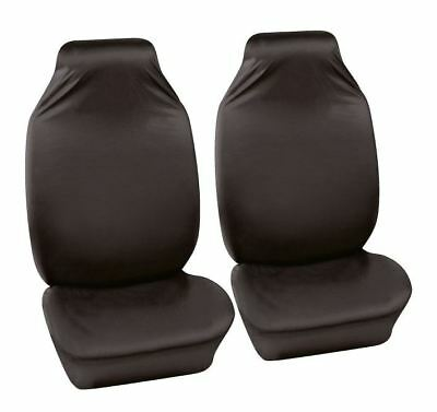 UKB4C Black Front Water Resistant Car Seat Covers for Alfa Romeo GT 04-10