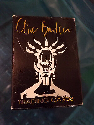 Clive Barker Trading Cards - 50 card set in original box