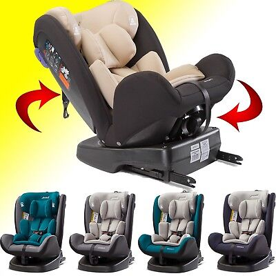 Car seat child baby Caretero Mokki ISOFIX 360° Top Tether 0-36 kg in 5 colors