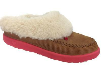 bc17aed24d8 GIRLS UGG AUSTRALIA Gray Moccasins Shoes! 1 - $16.99 | PicClick