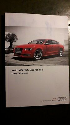 audi a5 owners manual 2011