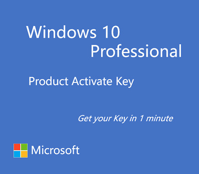 Windows 10 Pro Professional 32&64 Bit Product Key Produktschlüssel Sofort senden