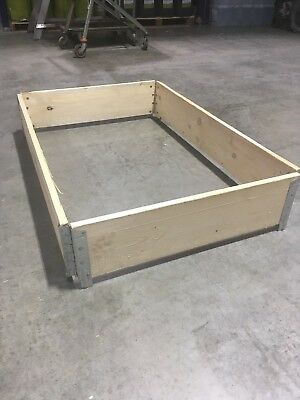 Euro Pallet Collar 1200 x 800, Ideal for raised beds or allotments