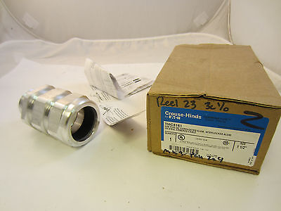 """Crouse Hinds Tmc5161   1-1/2"""" Armored Cable Connector"""