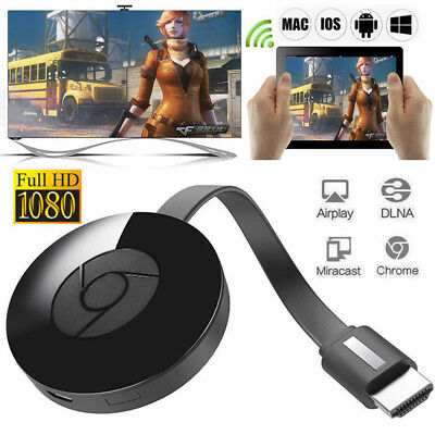 Chromecast 3rd Generation 3 Digital HDMI Media Video Streamer Work BI