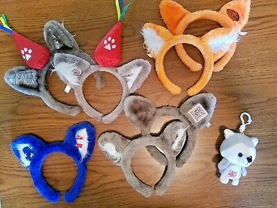 Wolf Ears headband tourist souvenir GREAT WOLF LODGE - Many STYLES - Your Choice
