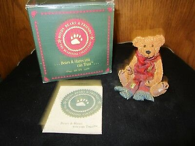 """Boyds Bears """"Grenville with Red Scarf"""" # 2003, NIB 1993 FREE SHIPPING"""