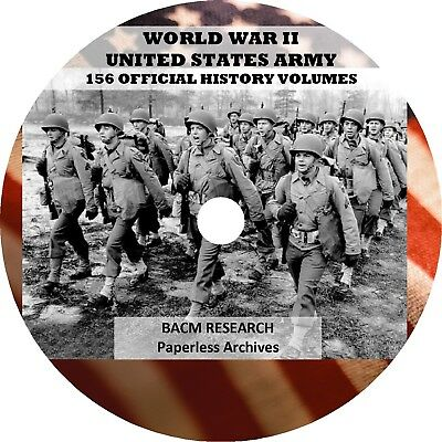 World War II Official Army Histories 58,851 pages, in 156 volumes