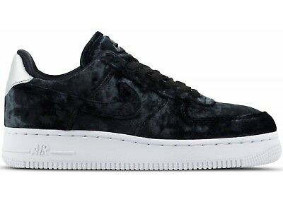outlet store 55439 2345f Nike Women s Air Force 1  07 PRM Velvet Athletic Snickers Shoes Size US 10  Black