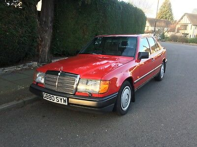 1989 Mercedes 200 200E W124 - 1 Engineer Owner & Excellent Condition