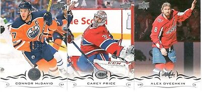 2018-19 Upper Deck Series 1 Commons You Pick Free Combined Shipping!!