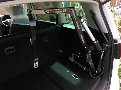 Brig-Ayd Controls Wheelchair Car Lift, disabled, mobility.