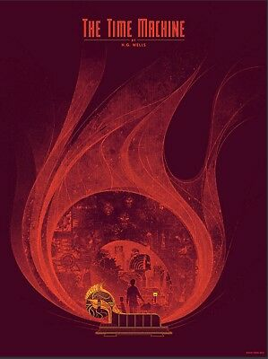 The Time Machine poster Kevin Tong (Mondo)