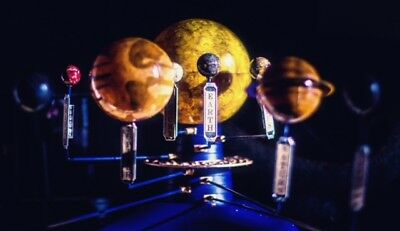 Kinetic Orrery Solar System Planetarium Model  Planets Rotate At Two Speeds