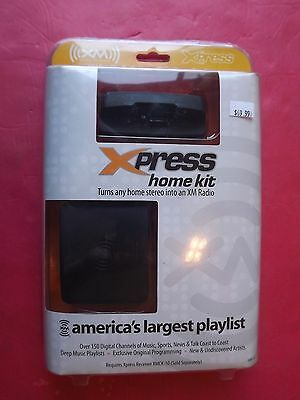 New  Audiovox xpress  Universal XM Home Kit Onyx plus XPRESS RC XMH-10