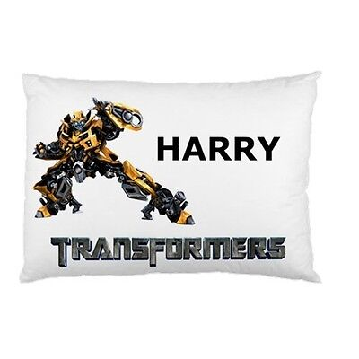 BUMBLEBEE TRANSFORMERS Personalized childrens kids BED pillow case