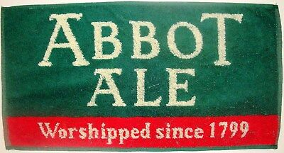 Abbot Ale, Worshipped Since 1799, Beer Bar Towel
