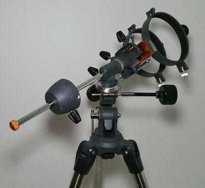 Equatorial Mount with Tripod for Telescopes (Adjustable height)