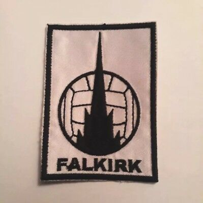 Falkirk FC Embroidered patch Badge Badges Football Club Patches