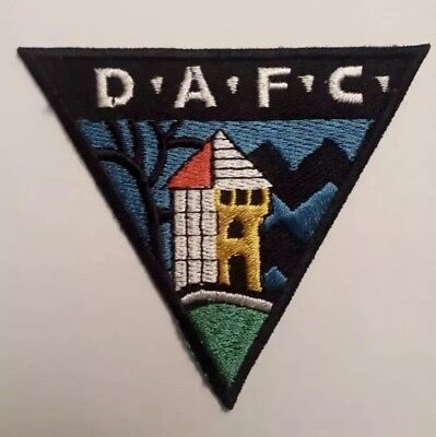 Dunfermline Athletic FC Embroidered patch Badge Badges Football Club Patches