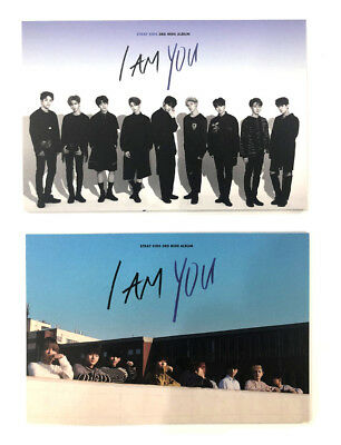 STRAY KIDS KPOP [ I am YOU ] 3rd Mini Album Official Postcard Book + Photo Card