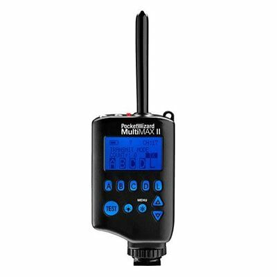 NEW! PocketWizard MultiMAX II Transceiver, Remote Control Radio Slave