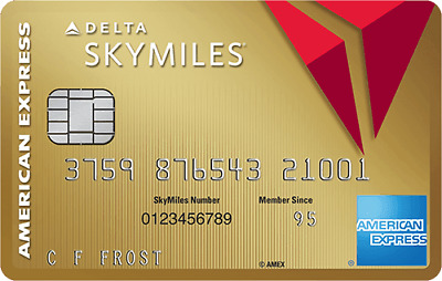 50,000 POINTS + AMERICAN EXPRESS Gold Delta SkyMiles CREDIT CARD + AMEX REFERRAL