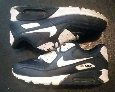 NIKE AIR MAX 90 Running Shoes Men's Size 10.5, BlackBlue