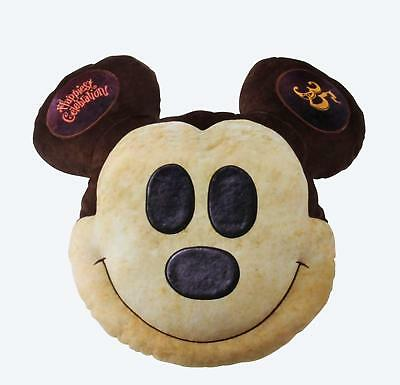 Tokyo Disney Resort 35th anniversay Mickey Mouse Pan type cushion Grand Finale