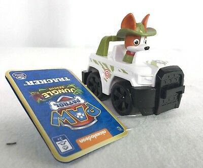 Nickelodeon Paw Patrol Jungle Rescue Tracker Racer New With Tags NWT