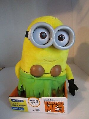 Despicable Me 3 Deluxe Talking Hula Jerry Plush Walmart Exclusive