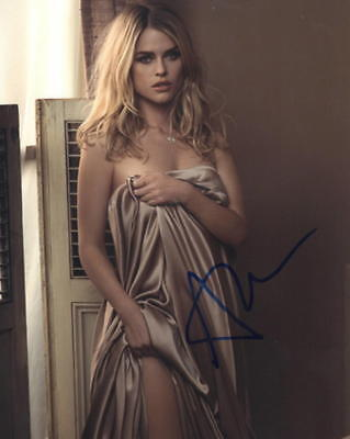 Hot Sexy Alice Eve Signed 8X10 Photo Authentic Autograph Star Trek Coa D